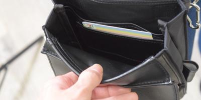 内側カードポケット