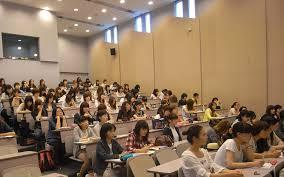 大学の講義風景
