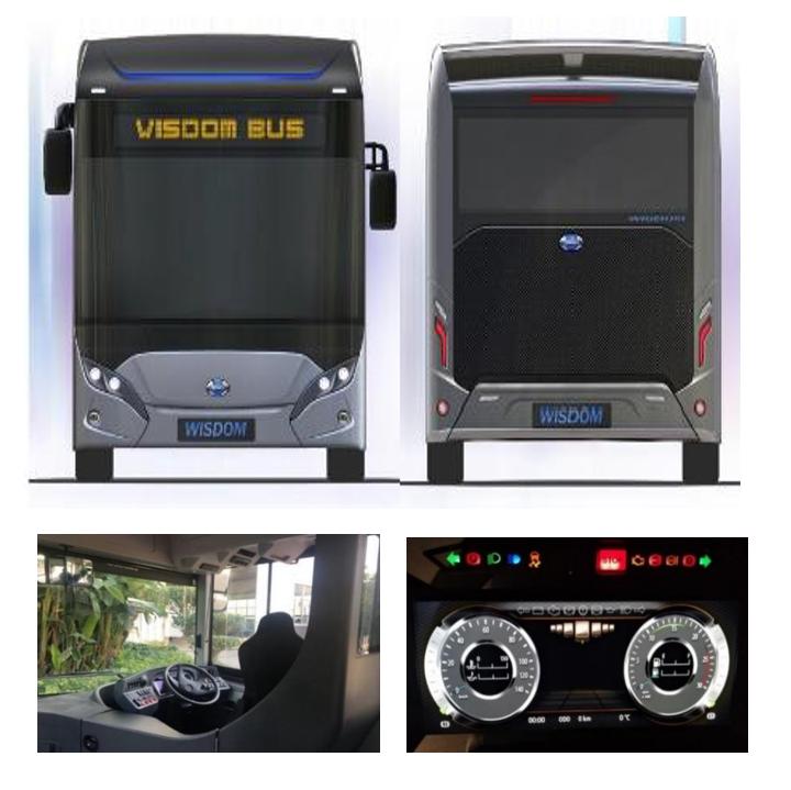 輸入電動バス