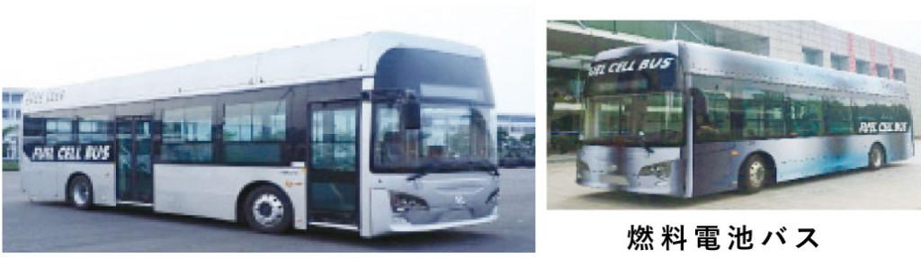輸入燃料電池バス